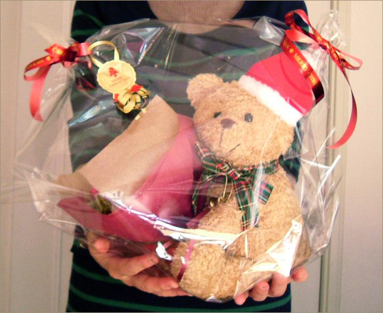 クリスマス限定!サンタベアの贈り物