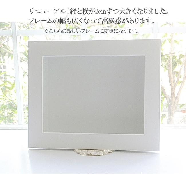 160411 パープル系の壁掛け(白) オーダーメイドプリザーブドフラワー