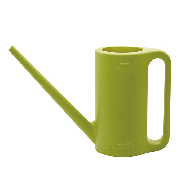 Plastia ウォータリングカン1.5L グリーン(ロット:4)
