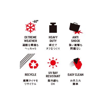 【予約商品】Kanguro リサイクルラバータブ24L(ロット:2)