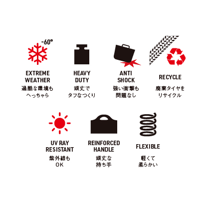 【予約商品】Kanguro リサイクルラバータライφ40(ロット:2)