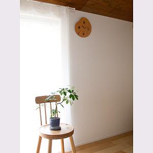 天然牛革の壁掛け時計-MonClock(Seed)複数紋入