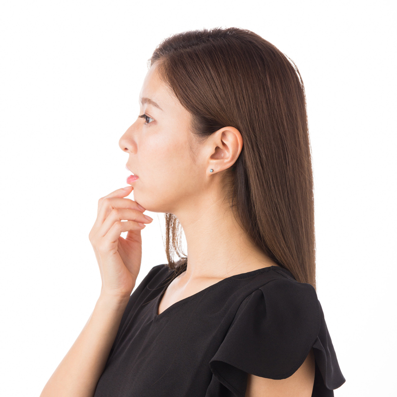 【ジュエリー ハナジュツ】 HANAJYUTSU セカンドピアス 医療用チタン 軸太 0.8mm 20G ロングポスト 12mm 丸形 4mm アクアマリン色