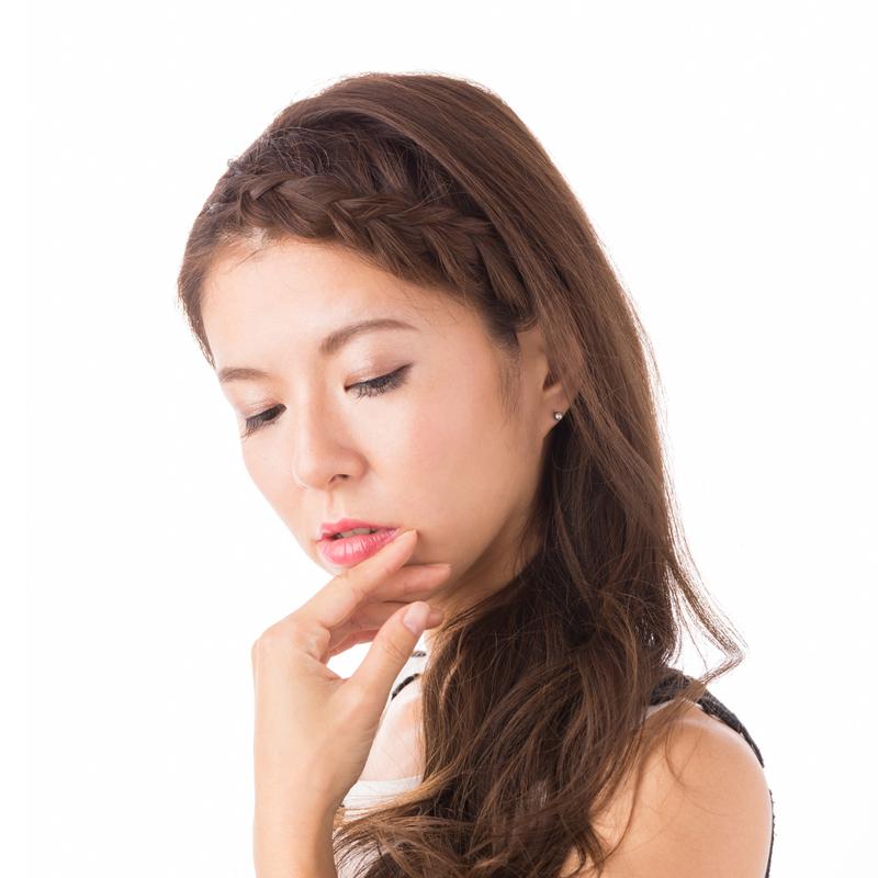 【ジュエリー ハナジュツ】 HANAJYUTSU セカンドピアス 医療用チタン 軸太 0.8mm 20G ロングポスト 12mm 丸形 4mm 無色透明色