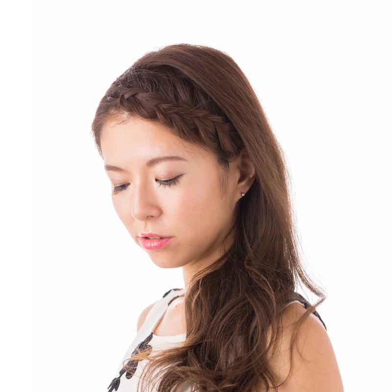 【ジュエリー ハナジュツ】 HANAJYUTSU セカンドピアス 医療用チタン 軸太 1.1mm 18G ロングポスト 12mm 丸形 4mm 無色透明色