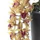 即戦力!数日で咲く!ミツバチ蘭 ミスマフェット(赤花系種)  ※数日で開花する株をお届けします。