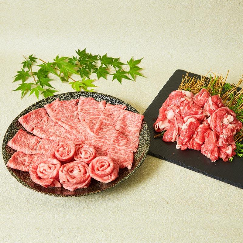 「華松」熟成佐賀牛「特選すき焼き牛セット」