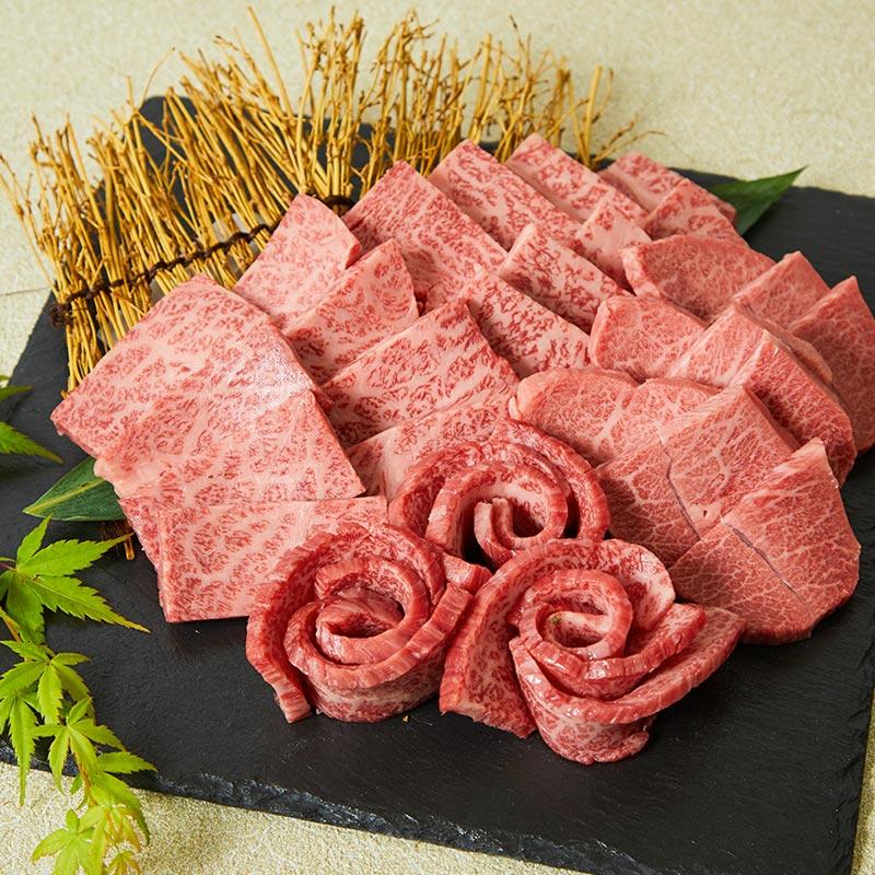華松限定お試しセット 焼肉4点盛り合わせ【いい肉セット】