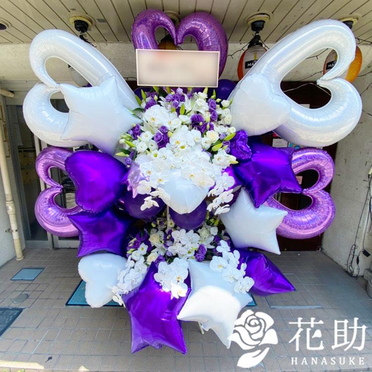 バルーンタワースタンド花 100000円 2段