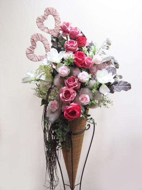 造花 お祝い フラワースタンド花 52000円