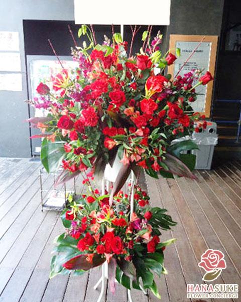 お祝いスタンド花二段 21000円