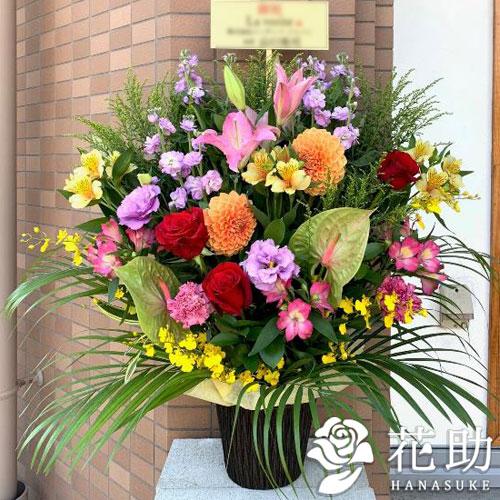 【赤バラ入り】お祝いアレンジメント花 12000円
