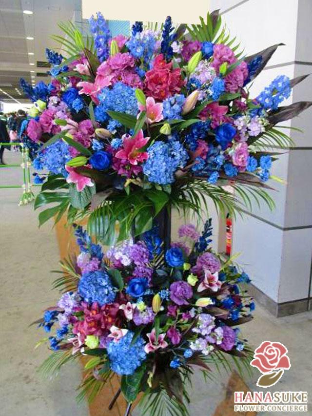 お祝いスタンド花二段 40000円