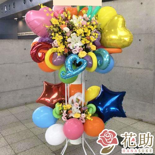 バルーンスタンド花 2段 21000円