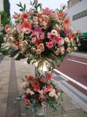 お祝いスタンド花二段 33000円
