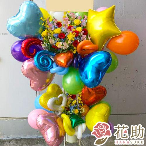 バルーンスタンド花 2段 37000円