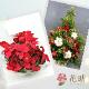 クリスマスアレンジメント花 8000円