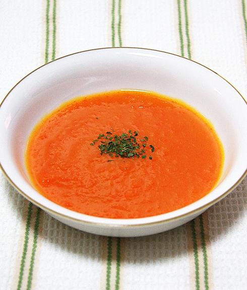 フレッシュ赤黄野菜のチキンポタージュ