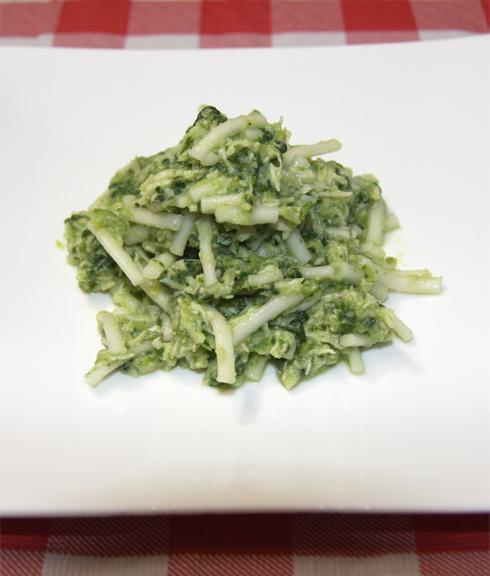 小松菜のジェノベーゼ