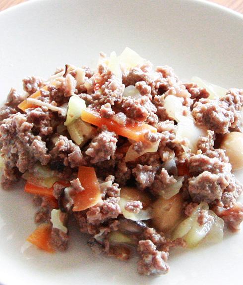 馬肉65%以上☆馬肉のキーマ煮(2袋入)
