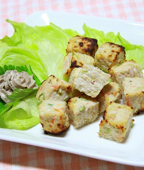 コロコロステーキ【鶏むね肉】