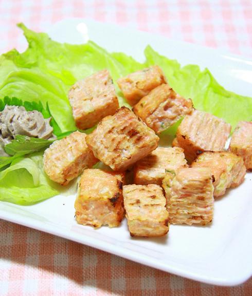 コロコロステーキ【鮭】