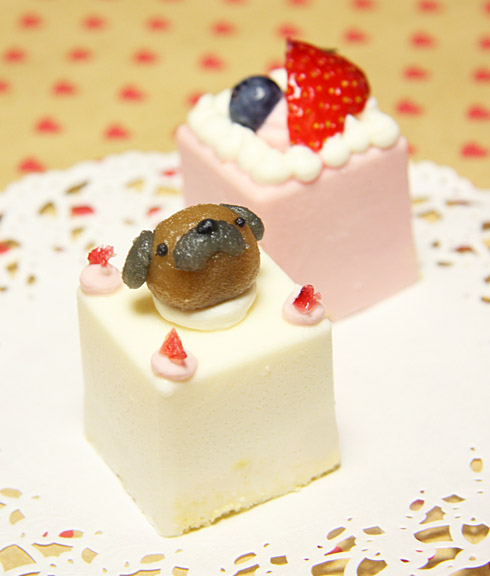 ピュアなレアチーズケーキ☆ハッピーキャレ
