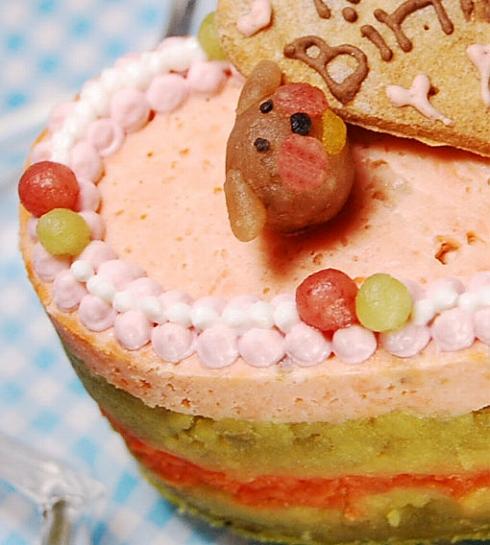 中・大型犬向け☆ハッピーLOVEフード【お魚のケーキ】