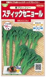 ブロッコリーの種/スティックセニョール