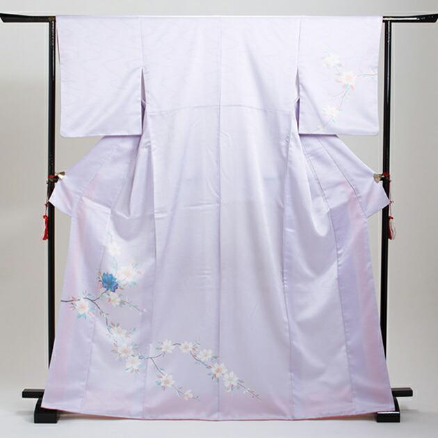訪問着 レンタル 袷 10月〜5月[〜160cm] お茶会 卒業式 入学式 着物 houmongi101