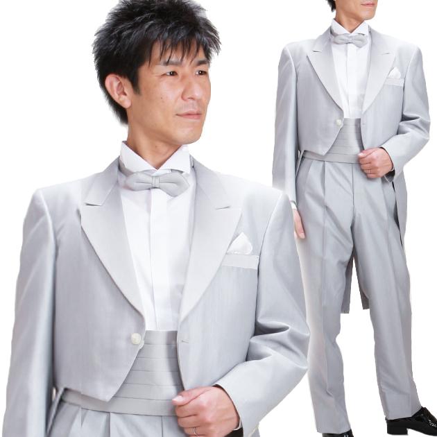 タキシード レンタル 【グレーモーニング レンタル】新郎 結婚式 nt008