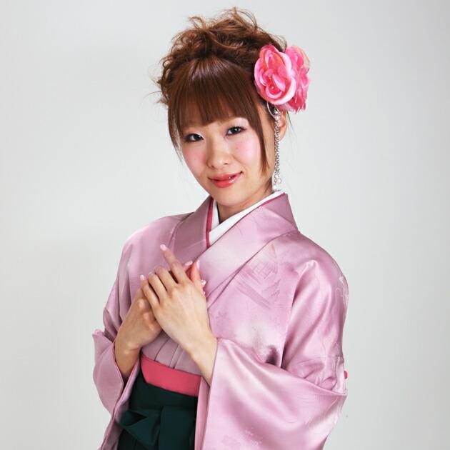 卒業式 袴 レンタル うす紫色 無地 身長〜160cm,7号〜13号 NT-muji12