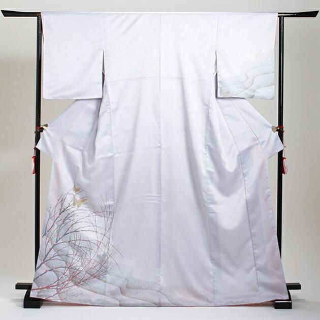 訪問着 レンタル 袷 10月〜5月[〜160cm] お茶会 卒業式 入学式 着物 houmongi102