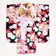 【乙葉】七五三 レンタル 女の子/5〜7歳 七五三着物 7歳 七五三着物7歳 黒色/桜 卒園式 結婚式 ★NT-507