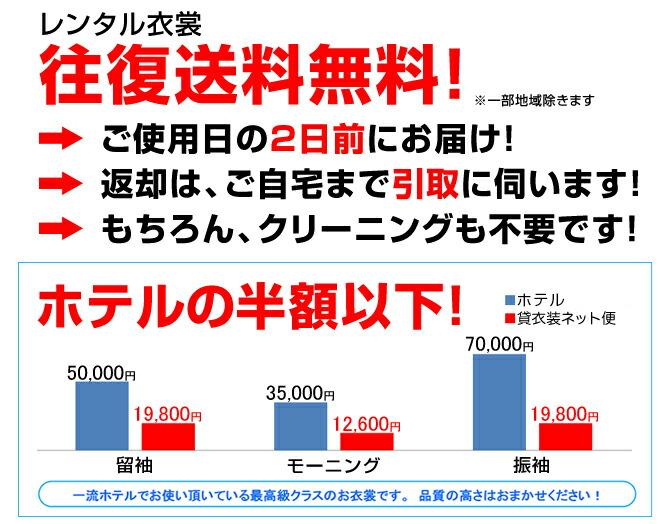 引き振袖レンタル 紺色/流水に松鶴 四季花 NT-67