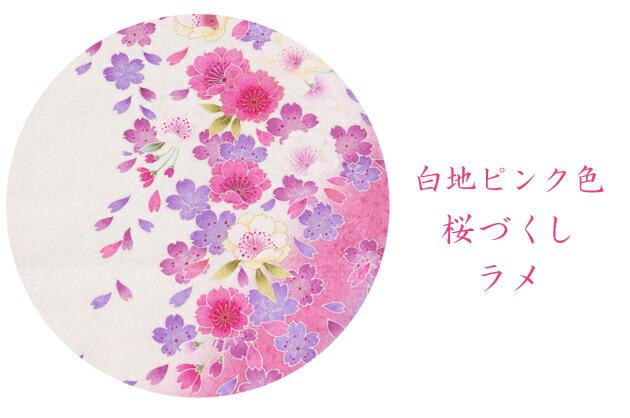 卒業式 袴 レンタル【中振袖+袴】 白地ピンク 桜づくし 身長〜168cm,7号〜13号 NT-F225