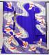 引き振袖レンタル 紫色/流水に鶴 NT-78