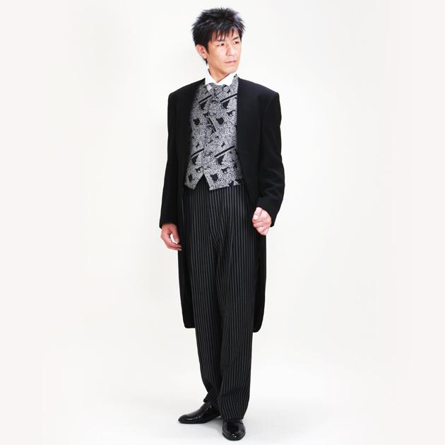 タキシード レンタル 【ブラックモーニング レンタル】新郎 結婚式 nt013