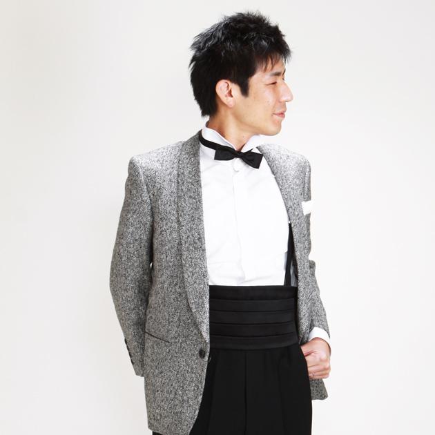 【タキシード レンタル】XS・Sサイズ/〜168cm/グレー パーティ 演奏会 1060
