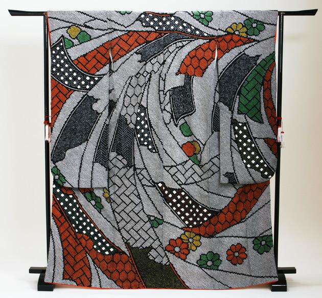 振袖 レンタル,〜160cm 黒しぼり色/黒総絞り熨斗柄 結婚式 成人式 結納 NT-71