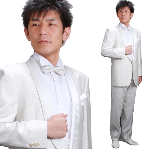 タキシード レンタル 【シルバータキシード レンタル】新郎 結婚式 nt05