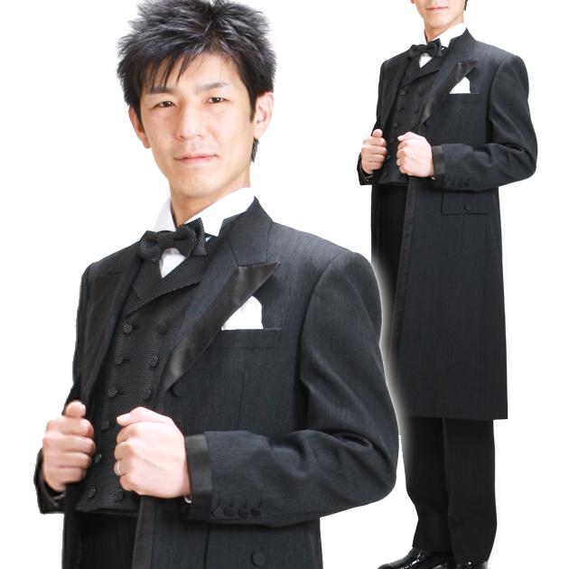 タキシード レンタル 【KIKUCHI TAKEO フロックコート レンタル】新郎 結婚式 nt017