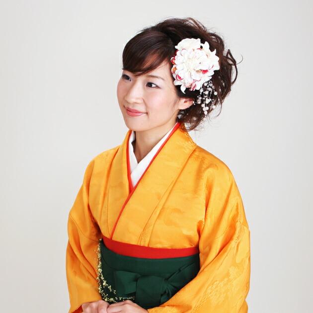 卒業式 袴 レンタル 山吹色 無地 身長〜155cm,7号〜13号 NT-muji39
