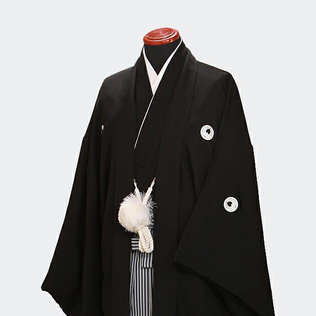レンタル 紋付袴 成人式/卒業式 【黒紋付袴レンタル】 紋付き袴 黒 紋付レンタル 袴レンタル nt-11
