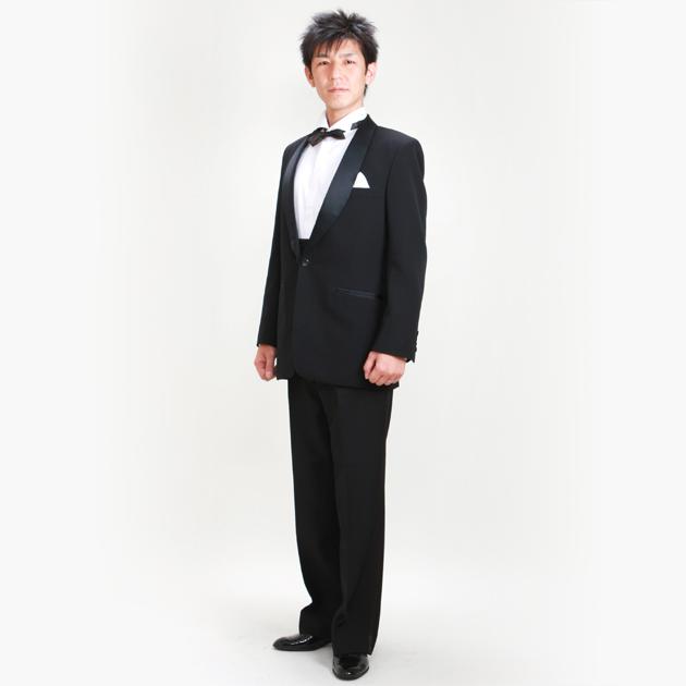 タキシード レンタル 【黒タキシード レンタル】新郎 結婚式 nt07