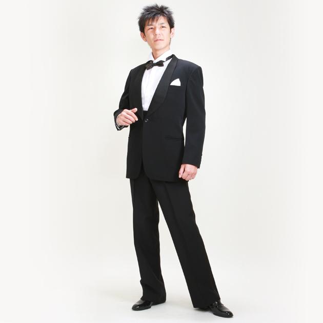 タキシード レンタル 【黒タキシード レンタル】新郎 結婚式 nt04