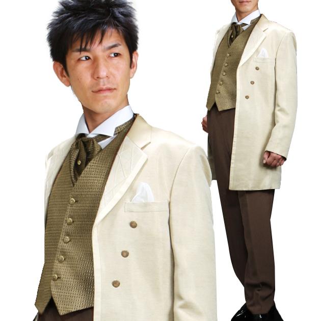 タキシード レンタル 【トパーズロングタキシード レンタル】新郎 結婚式 nt025