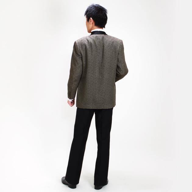 【タキシード レンタル】M・Lサイズ/168cm〜175cm/ブラウン パーティ 演奏会 1141