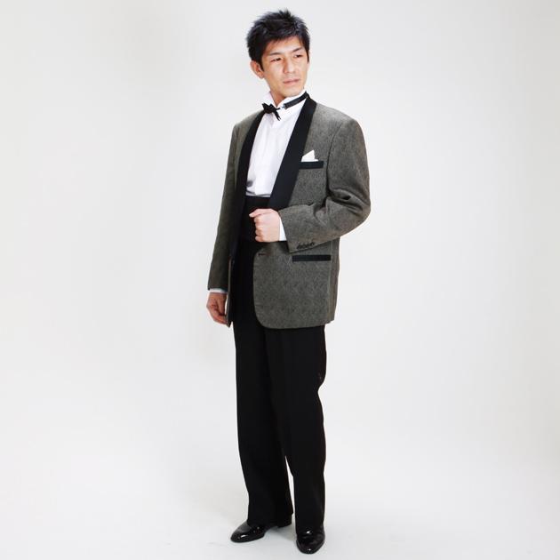 【タキシード レンタル】L・XLサイズ/170cm〜182cm/ブラウン パーティ 演奏会 1146b