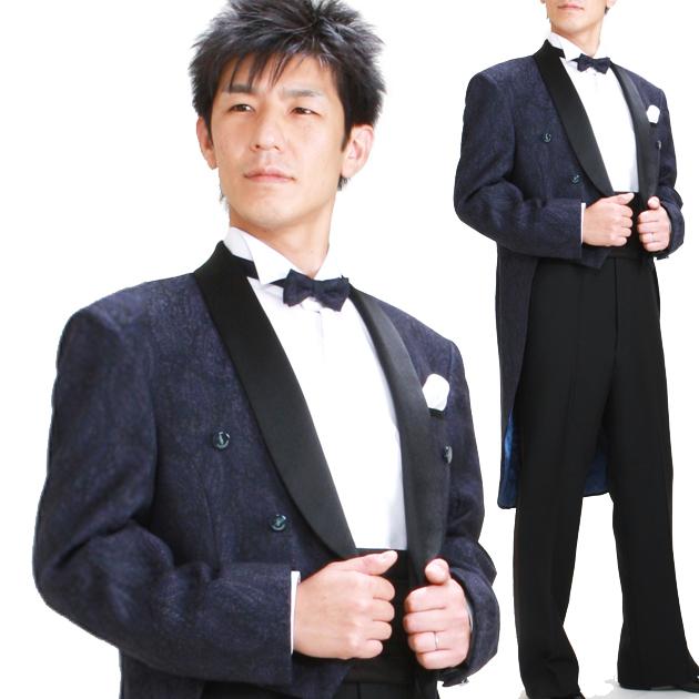 タキシード レンタル 【トラサルディ エンビ レンタル】新郎 結婚式 nt009